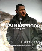 Obama Weatherproof Advertisement