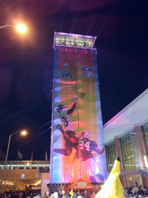 Indianapolis Super Bowl Zipline