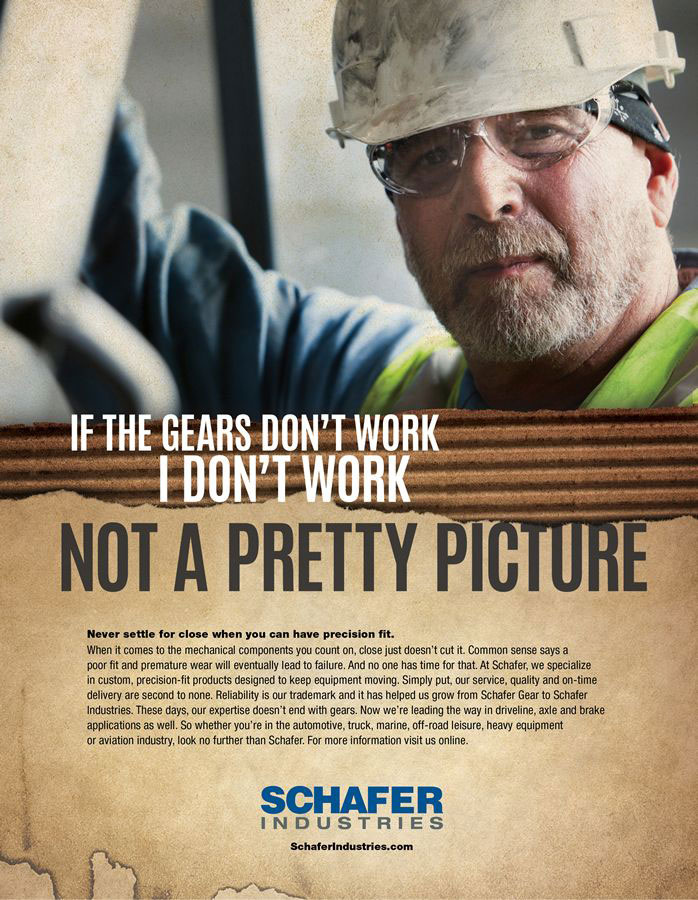 Schafer Industries <strong>Print Advertising</strong>