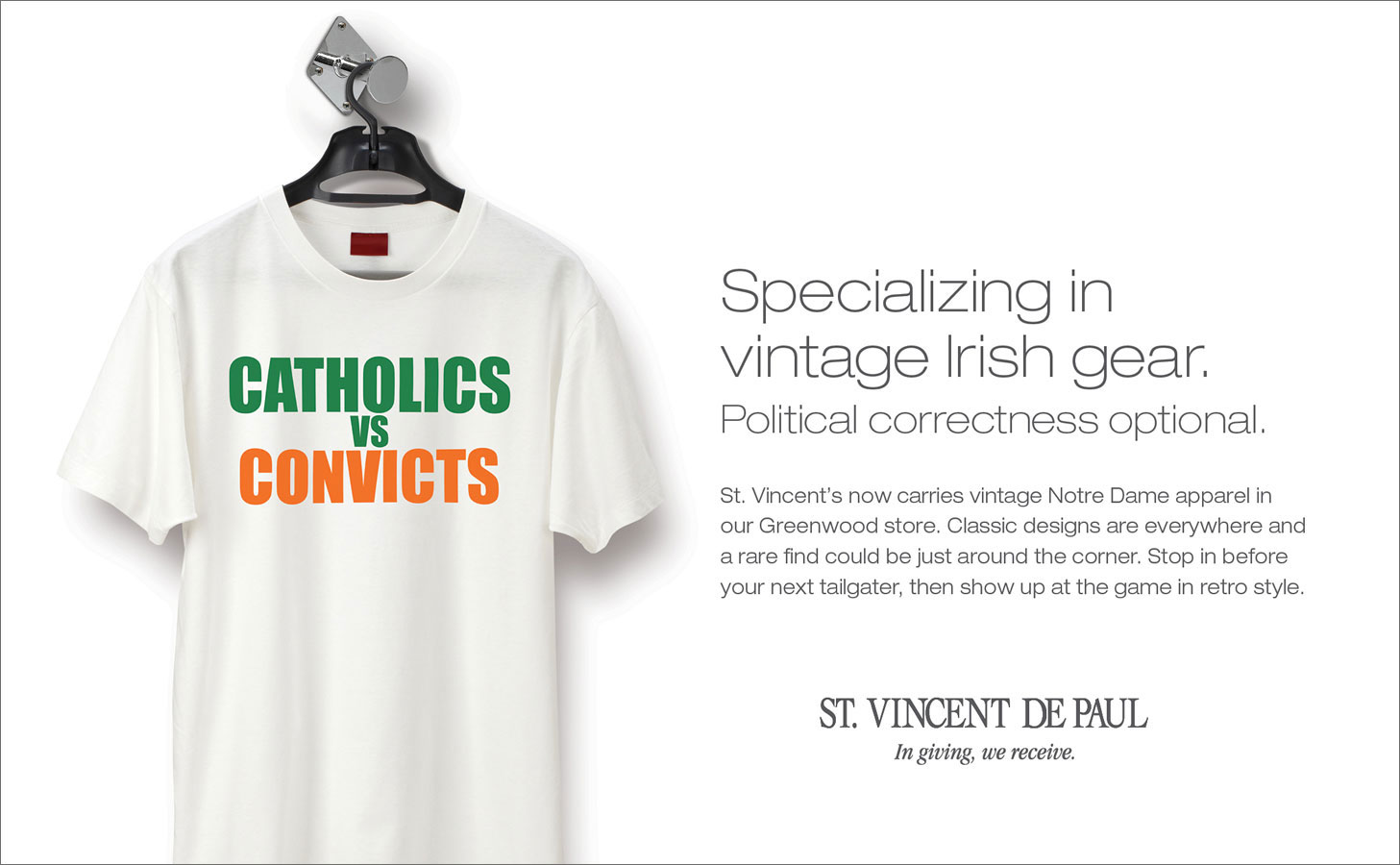 St. Vincent De Paul <strong>Print Advertising</strong>