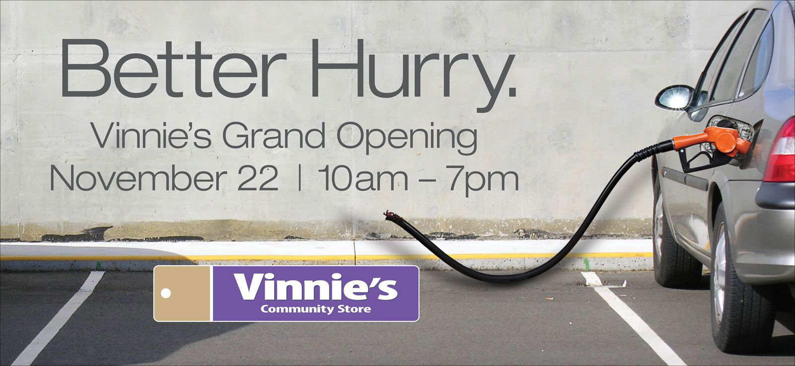 "St. Vincent De Paul ""Vinnie's"" <strong>Grand Opening</strong>"