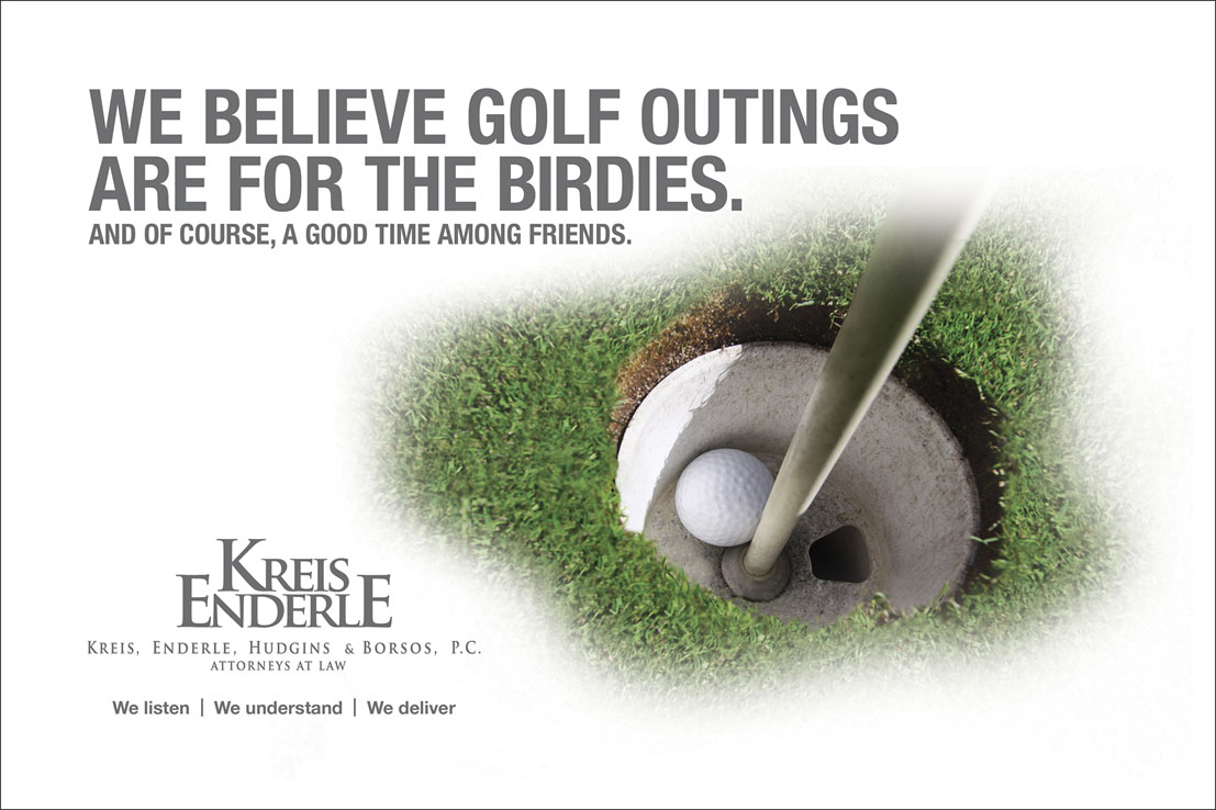 Kreis Enderle <strong>Golf Outing Signage</strong>