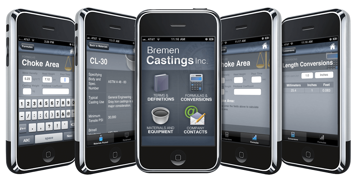 Bremen Castings <strong>iOS App</strong>