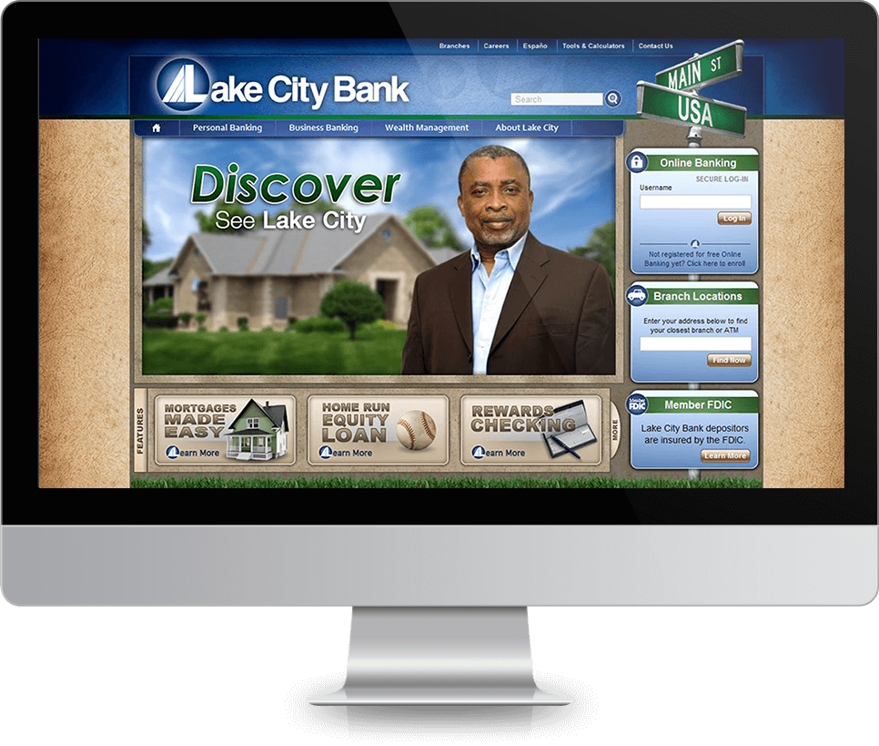Lake City <strong>Website</strong>