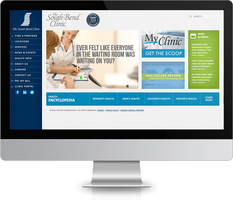 South Bend Clinic <strong>Website</strong>