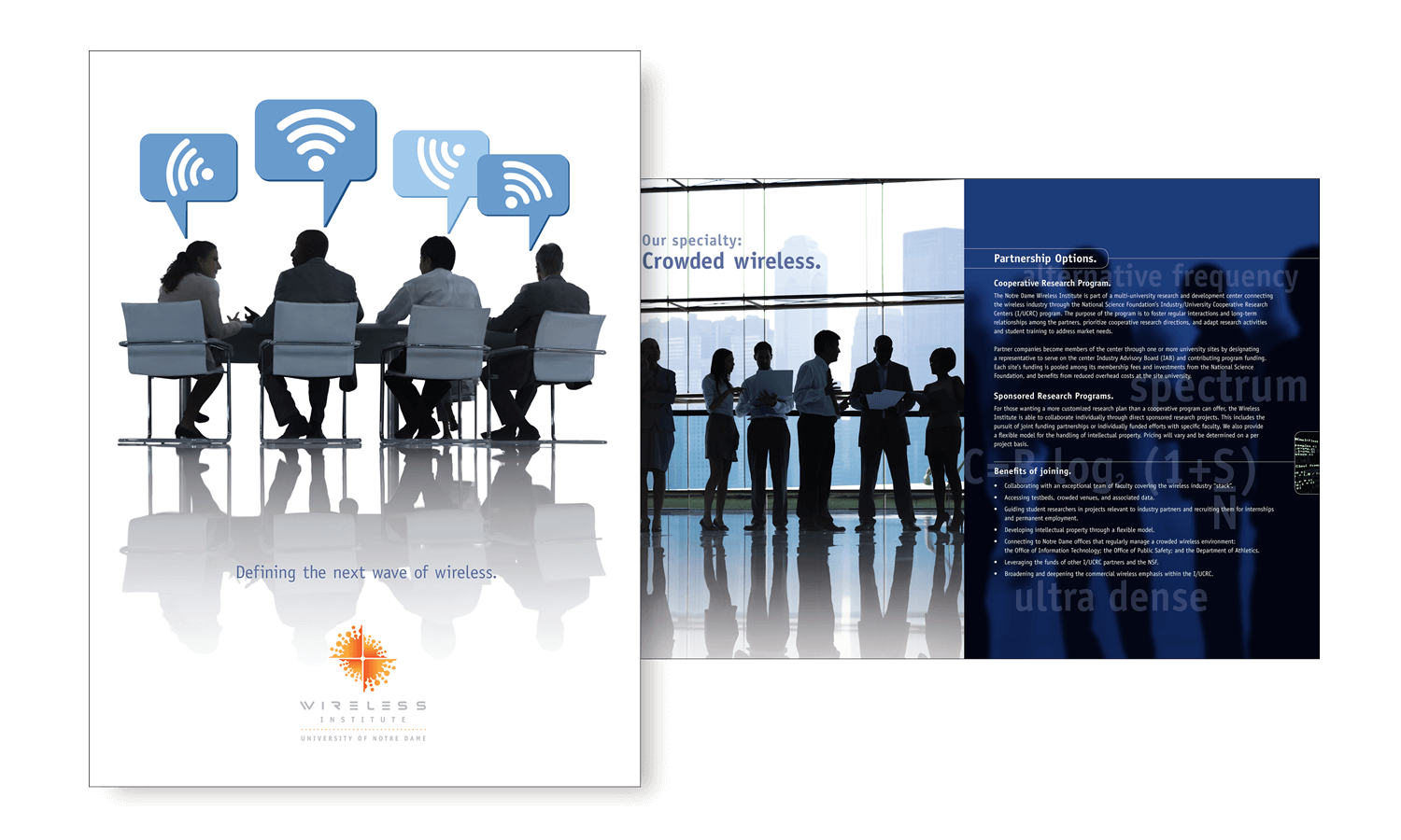 Notre Dame Wireless Institute <strong>Corporate Brochure</strong>
