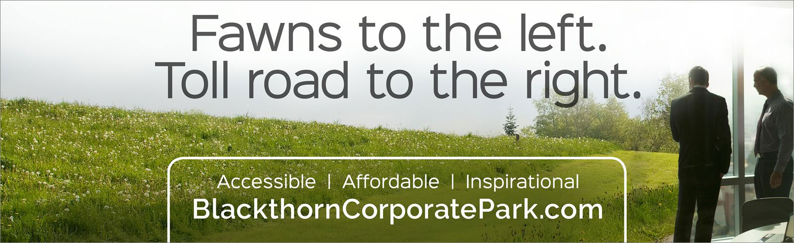Blackthorn Corporate Park <strong>Outdoor Campaign</strong>
