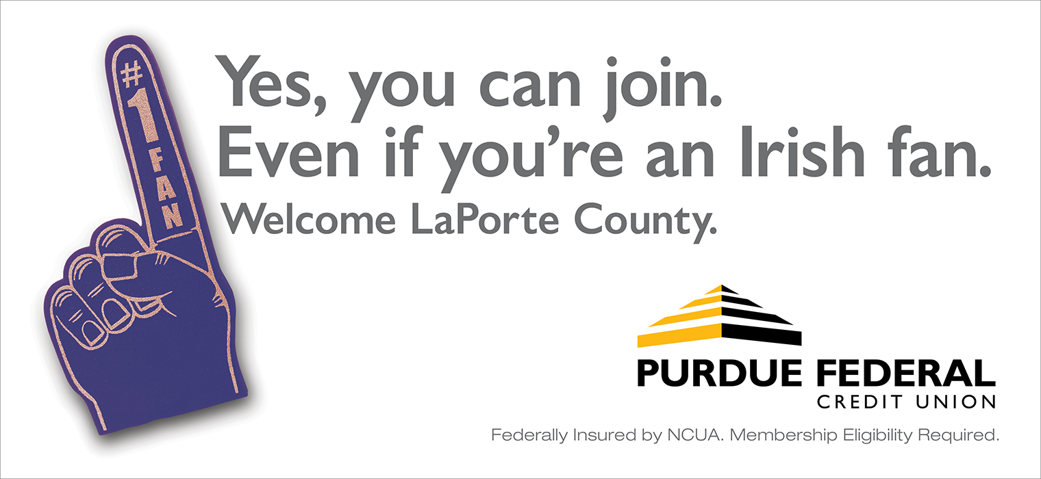 Purdue Federal Credit Union <strong>Outdoor Campaign</strong>