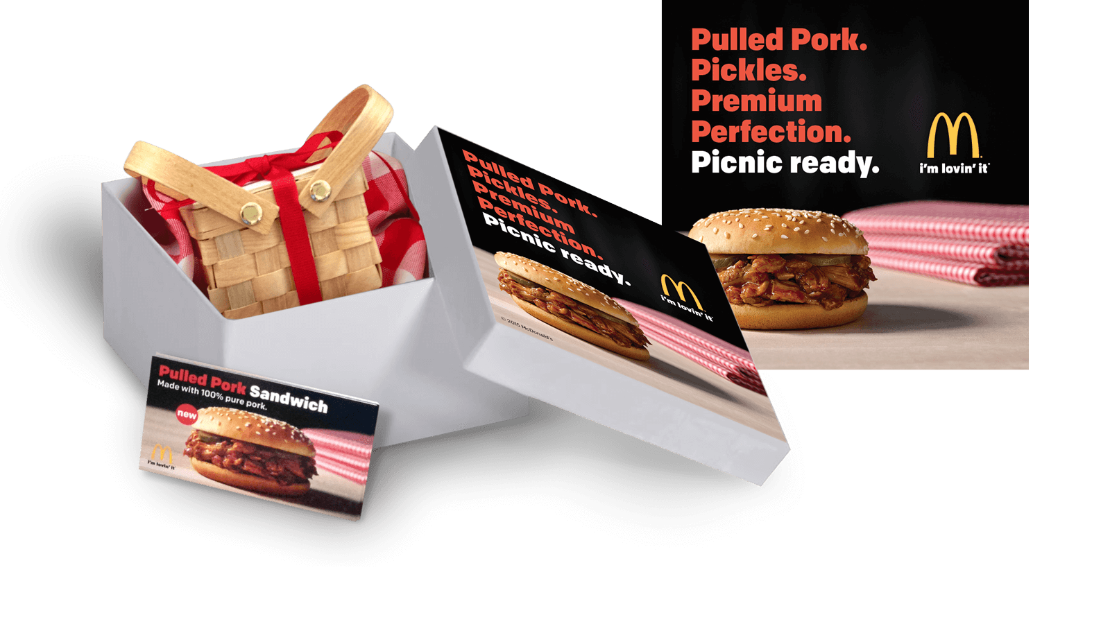 "M<span class=""lowercase"">c</span>Donald's <strong>Pulled Pork Media Kit</strong>"