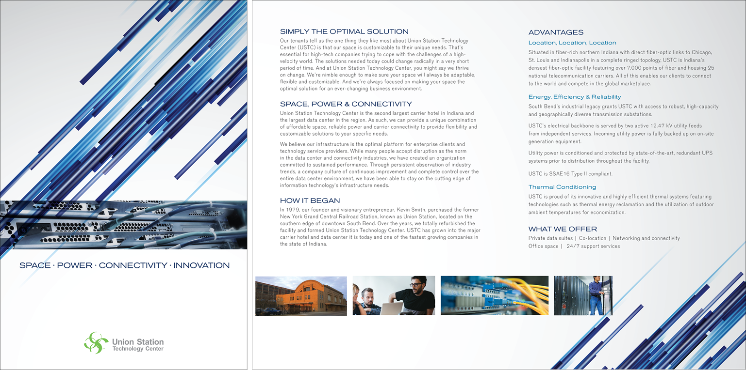 Union Station Technology Center <strong>Corporate Brochure</strong>
