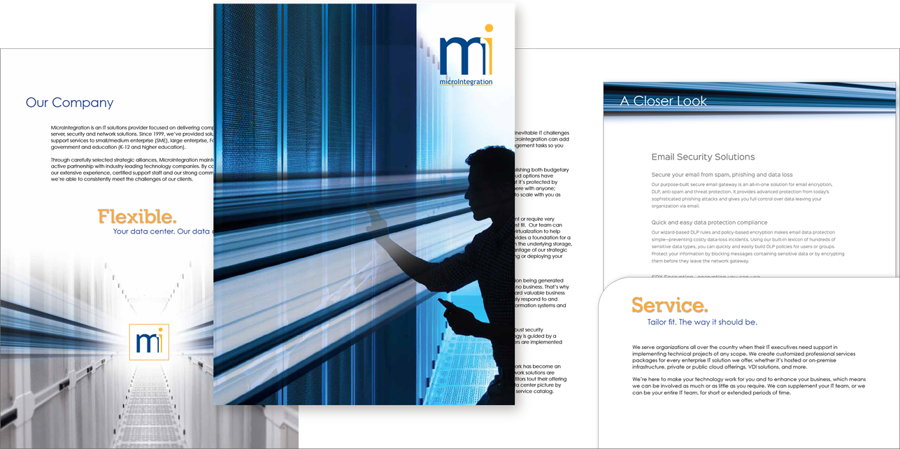 MicroIntegration <strong>Corporate Brochure</strong>