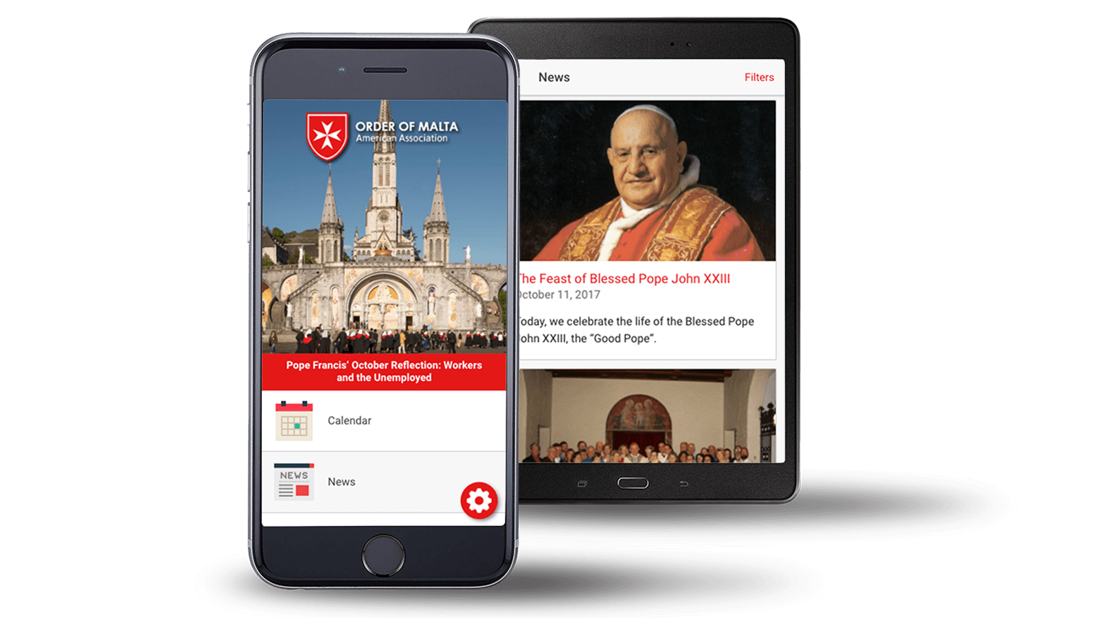 Order of Malta <strong>Mobile App</strong>